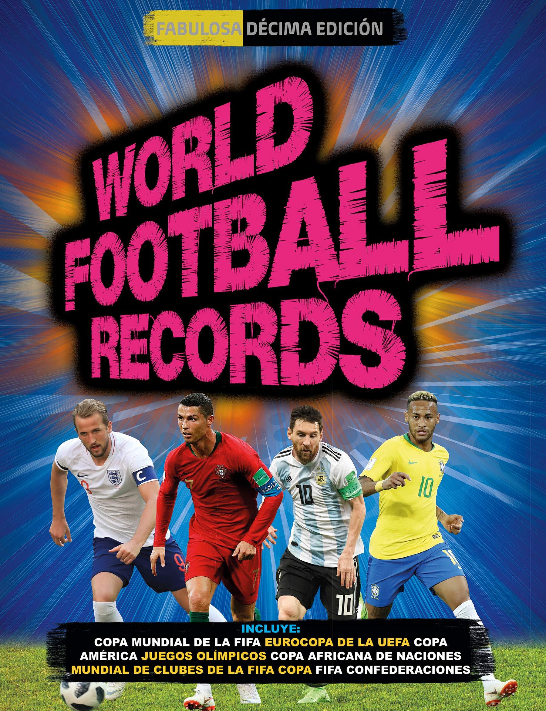 World Football Records 2018 (Libros ilustrados): Amazon.es: Varios ...