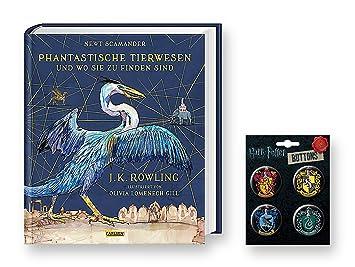 Harry Potter Schmuckausgabe Phantastische Tierwesen Und Wo Sie Zu