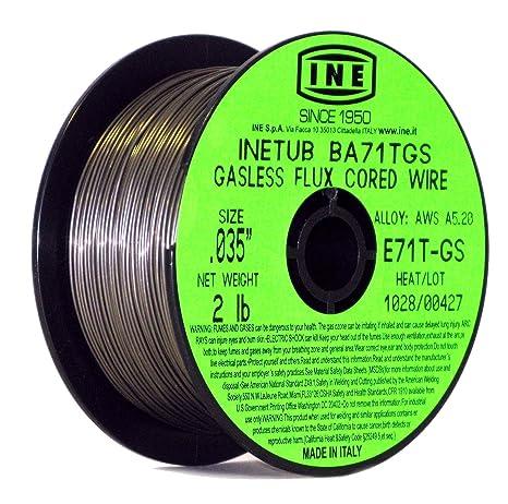INETUB BA71TGS .035-Inch on 2-Pound Spool Carbon Steel Gasless Flux ... b3549a518b059