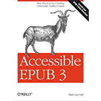 Accessible EPUB 3 (English Edition)