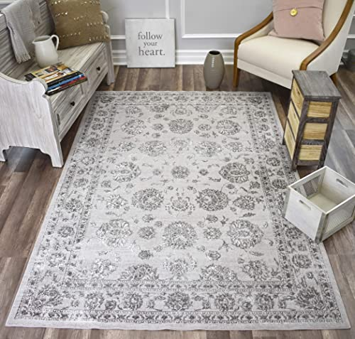 CosmoLiving Angel Collection Area Rug