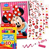 Amazon.com: Mickey Mouse Coloring Book with Stickers and Markers ...