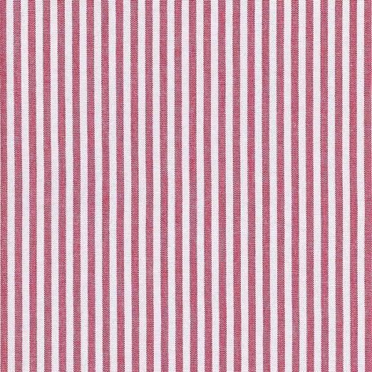 Textiles français Tela Rojo y Blanco - Raya Marina - 100% algodón ...
