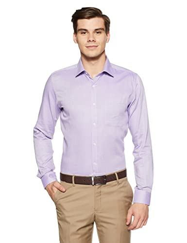 Raymond Men's Plain Slim Fit Formal Shirt Men's Formal Shirts at amazon