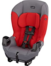 Evenflo Sonus Convertible Car Seat, Lava Red