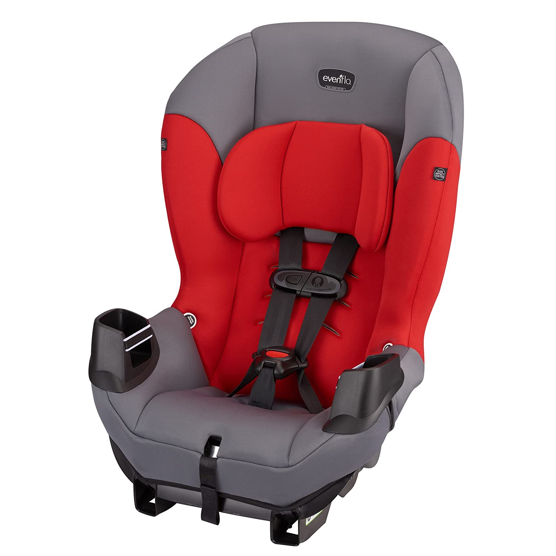 Evenflo Sonus Convertible Car Seat, Lava Red 34712059