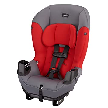 Evenflo Sonus Convertible Car Seat Lava Red