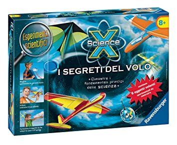 Ravensburger Italy 18997 – Science X The Secrets of the Flight