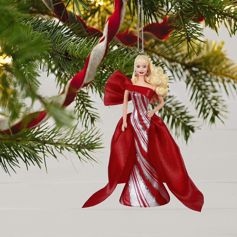 Holiday Barbie Doll Ornament Hallmark Keepsake Christmas Ornaments 2019 Year Dated