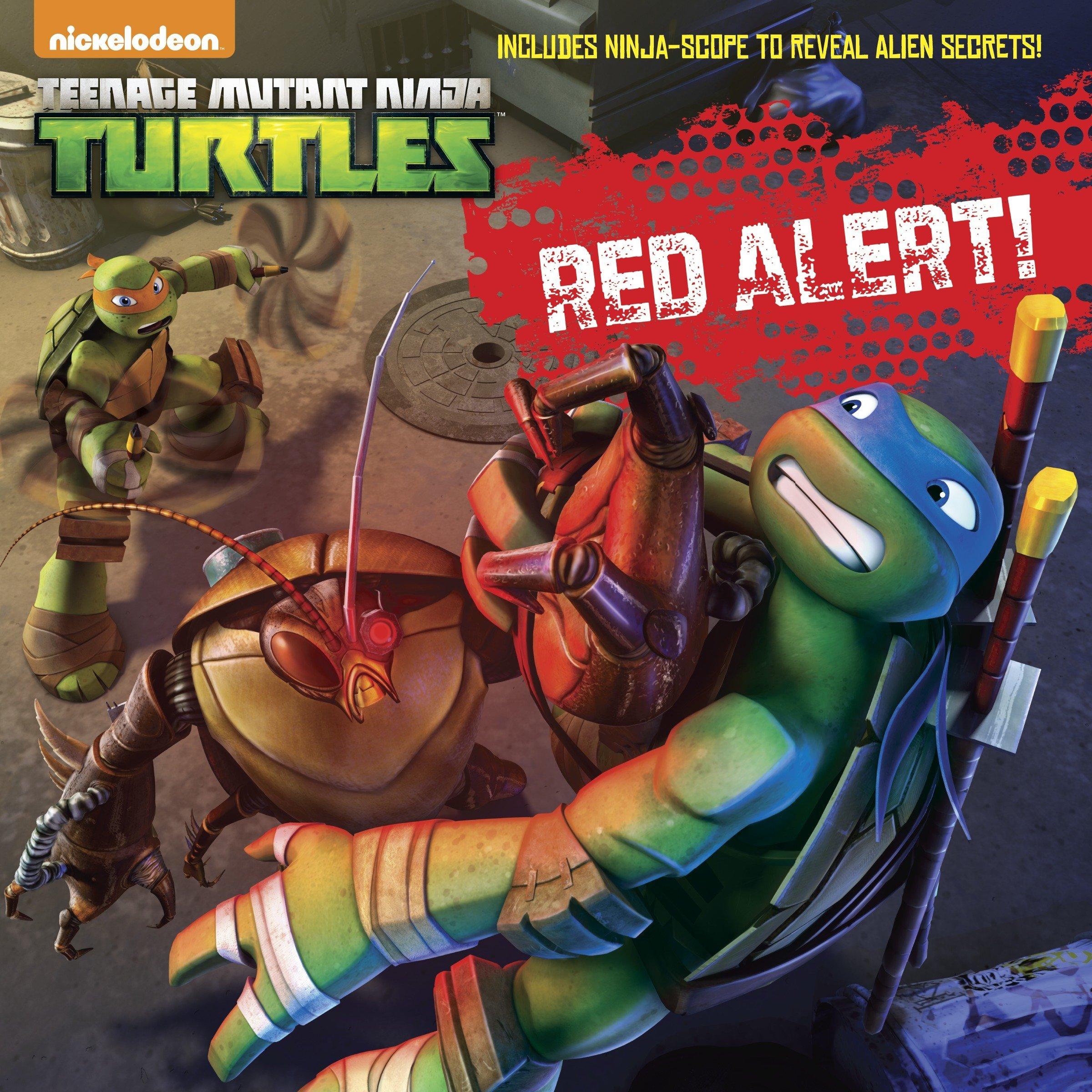 Red Alert! Teenage Mutant Ninja Turtles : With Goggles ...