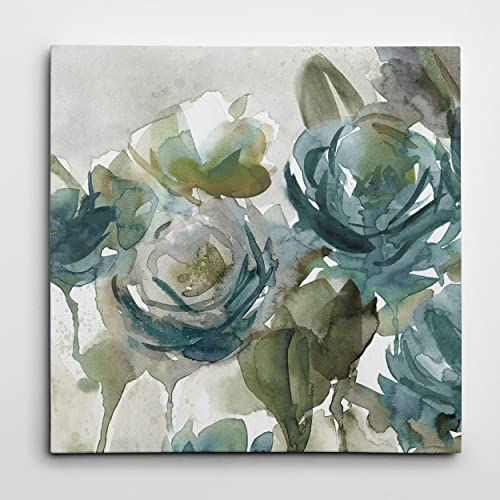WEXFORD HOME 'Secret Garden Negative Gallery Wrapped Canvas Wall Art