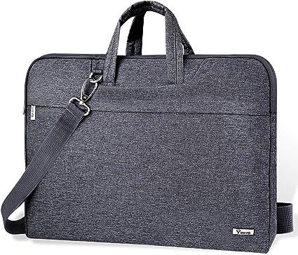 Society People Crowd Laptop Shoulder Messenger Bag Case Sleeve for 14 Inch to 15.6 Inch with Adjustable Notebook Shoulder Strap