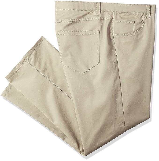 Amazon.com: Van Heusen - Pantalón para hombre grande y alto ...
