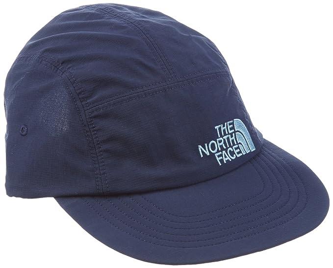 amazon the north face horizon folding bill cap cmic blue sports outdoors baseball white hyvent logo womens