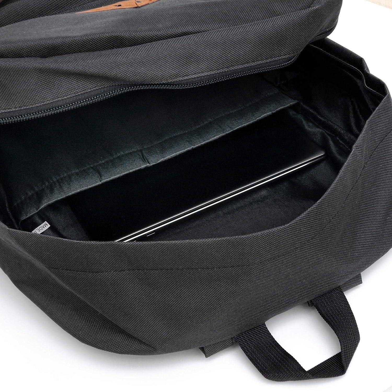 Viventi Clothing Sac /à dos unisexe robuste pour ordinateur portable 15,6 Couleur noir