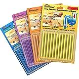 Drain Sticks Drain Cleaner Sticks Drain Deodorizer Sticks for Preventing Clogs Eliminating Smelly Odor Kitchen Bathroom…