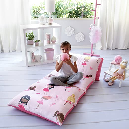 Amazon Com Butterfly Craze Kid S Floor Pillow Bed Cover Use As