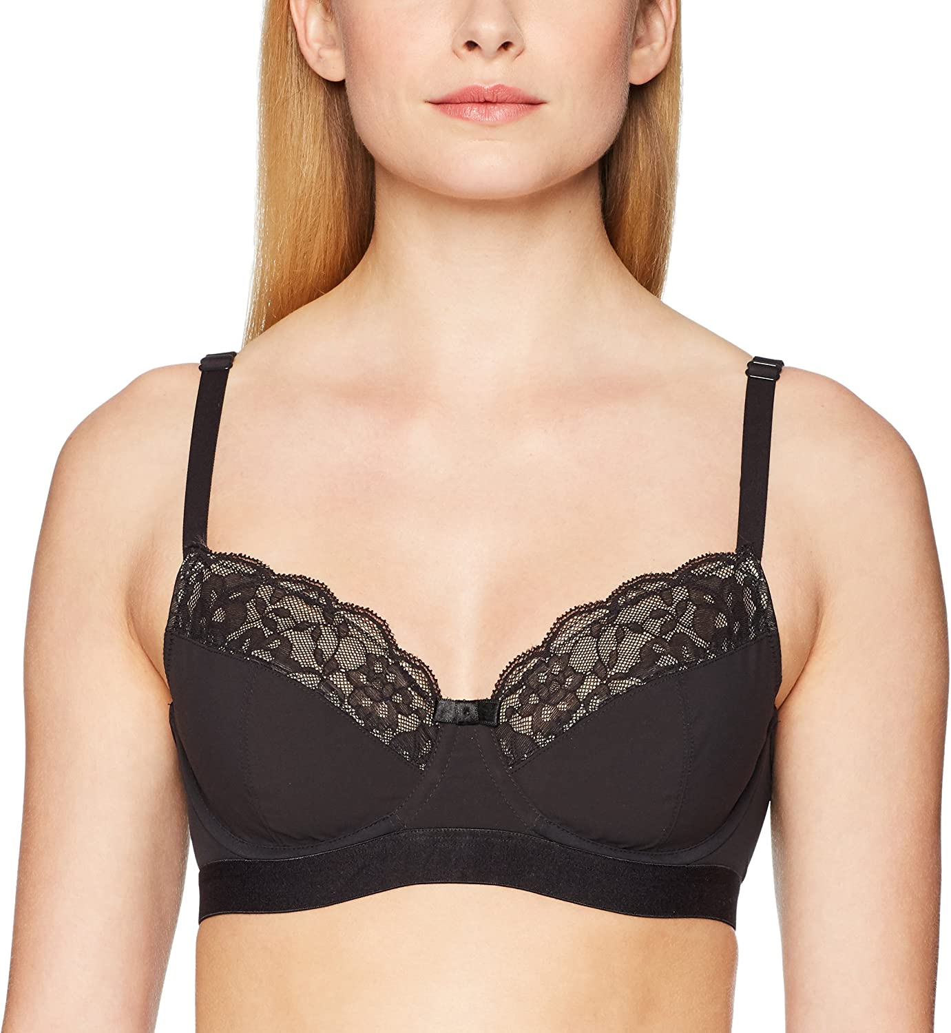 Wonderbra Womens Elegant Support Lace Back Underwire Bralette