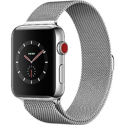 Amazon.com: Apple Watch Series 3 (Reacondicionado), 42 mm ...