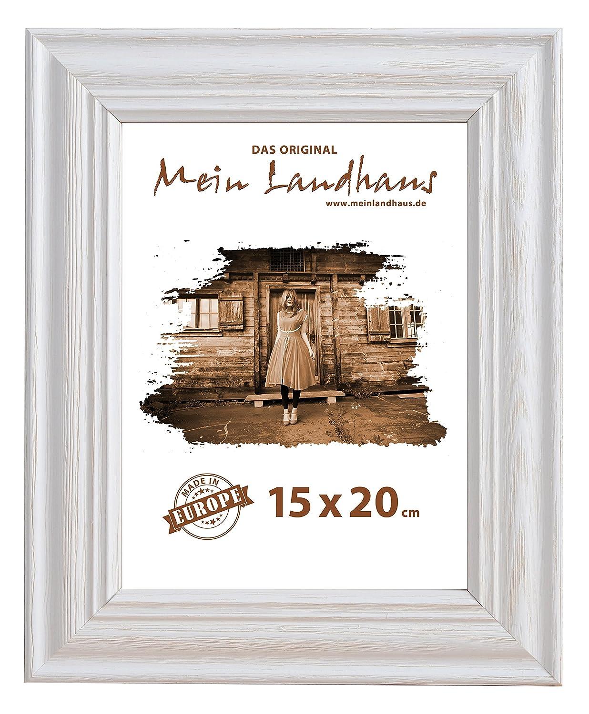Amazon.de: Mein Landhaus Vintage Bilder-Rahmen Stockholm im Shabby ...