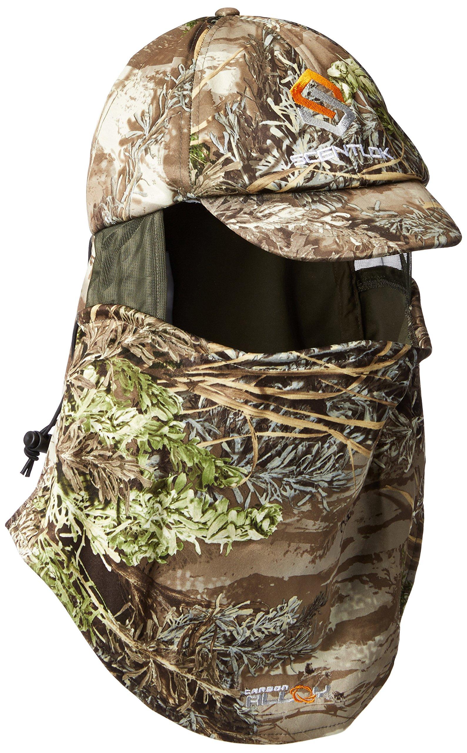 ScentLok Men's Savanna Ultimate Lightweight Headcover, Realtree Max, One Size