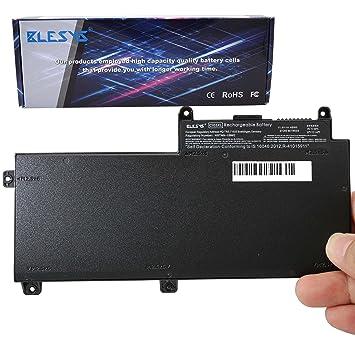 BLESYS 48Wh CI03XL batería HP CI03 CIO3 CIO3XL HSTNN-UB6Q Repuesto de Portátil Batería de ajuste HP ProBook 640 G2/645 G2/650 G2/655 G2 Serie Notebook: ...