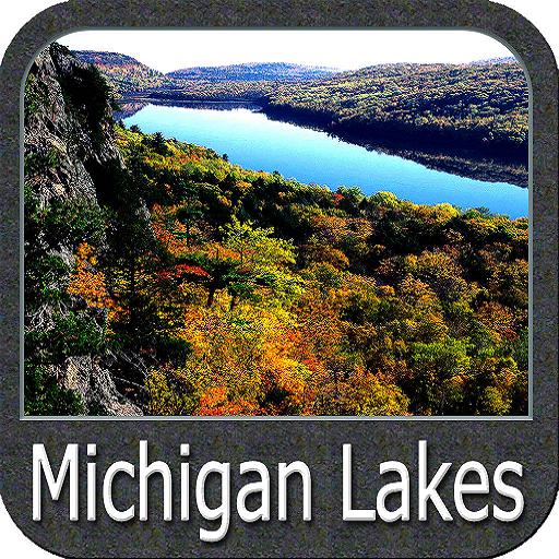Michigan Lakes gps navigator (Fishing Gps Software)