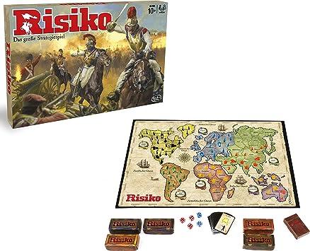 Hasbro B7404 - Risk, Juego de Estrategia, 10 Año(s), 56 Piezas, Caja) , colores/modelos Surtido - Idioma Aleman: Amazon.es: Juguetes y juegos