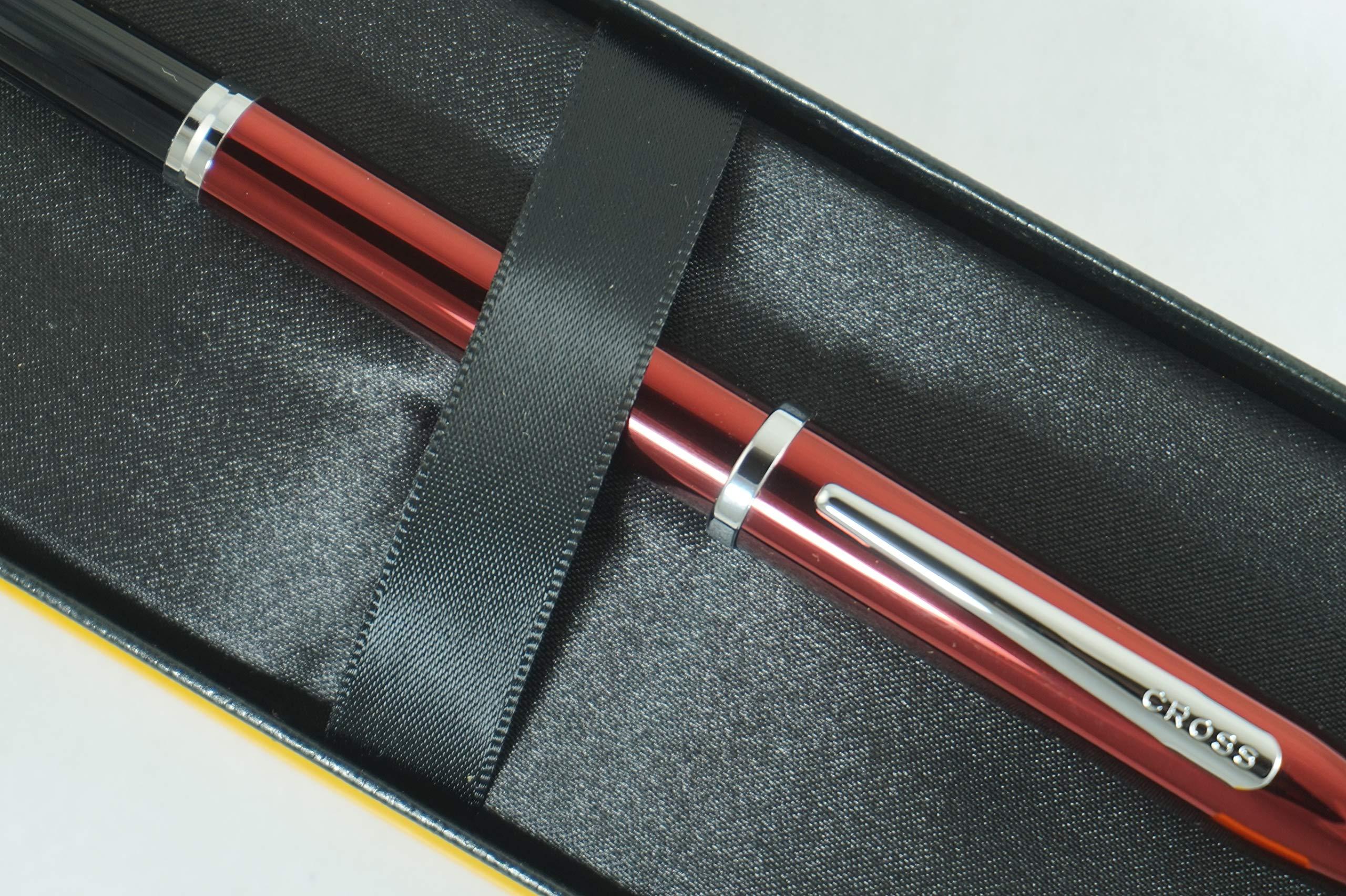 Cross Century II Limited Series, Pearlescent Metallic Ruby Red selectip Gel Ink Rollerball Pen