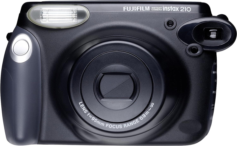 Fujifilm Instax Wide 210 - Cámara analógica instantánea, Negro ...