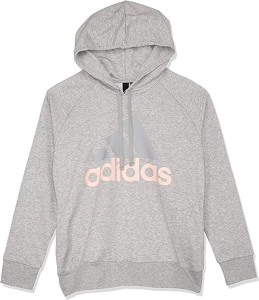 adidas Womens Essentials Linear Oh Fleece Sweatshirt Hoodies