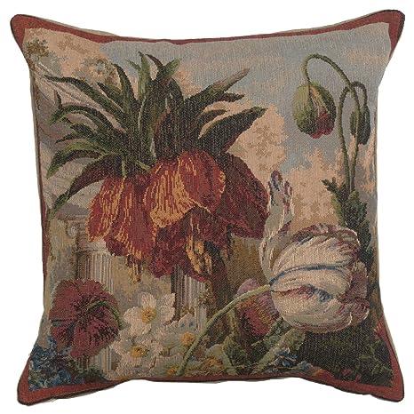 Amazon.com: Fleur Exotique Francés Tapestry Cojín: Home ...