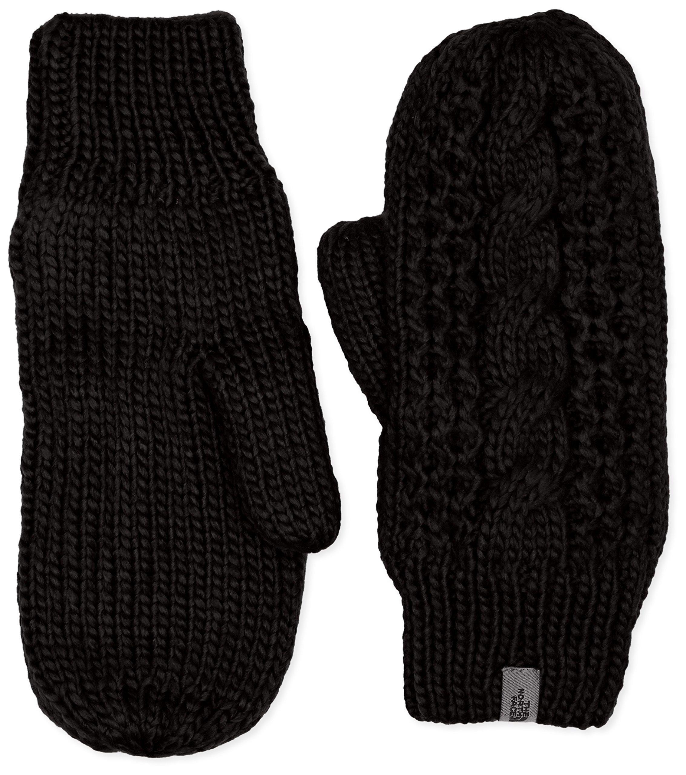 The North Face Cable Knit Mitt Women's TNF Black Small/Medium