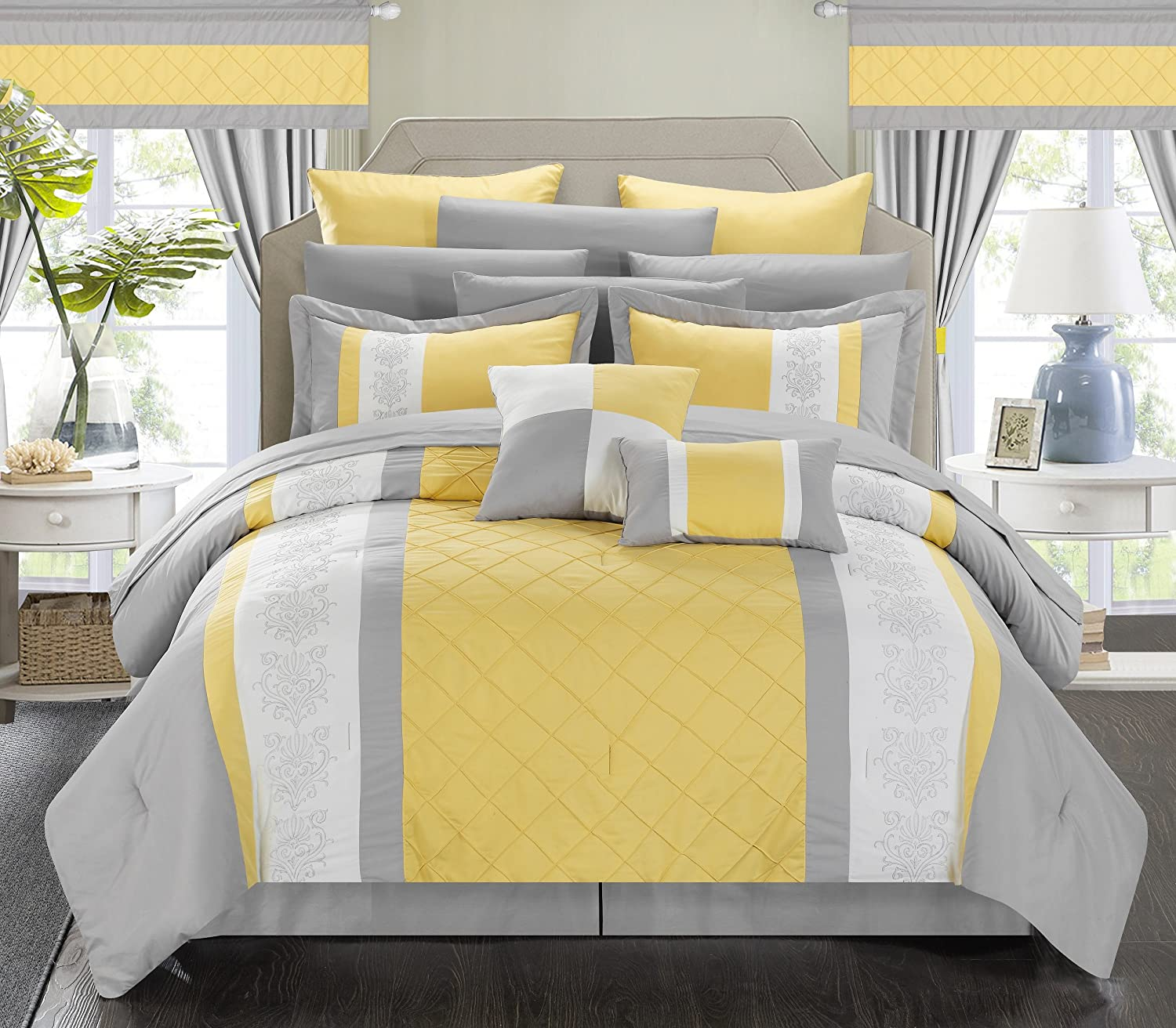 bedding pin comforters with duvet comforter ease and sale winter style yellow queen cover