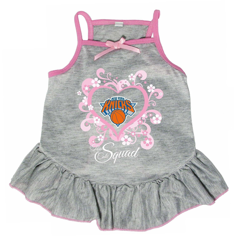 Hunter 4235-18-4500 NBA New York Knicks Too Cute Pet Dress, X-Small