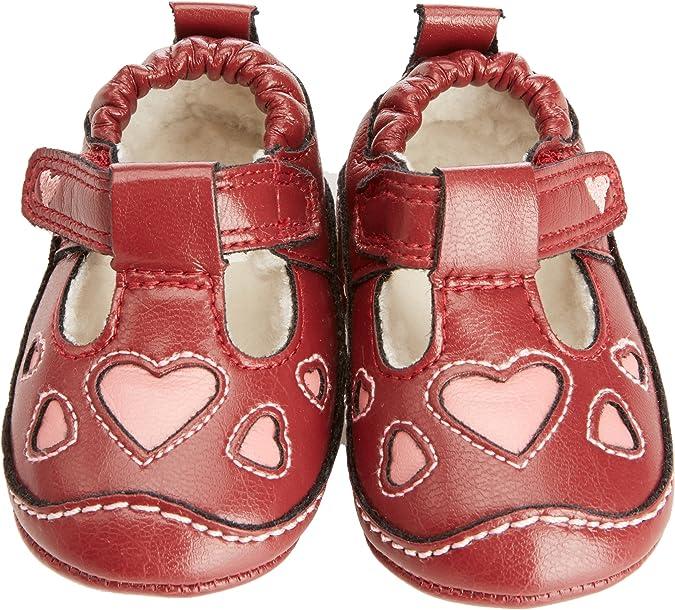 Padders Baby-Girl Smart T Bar Shoe BG