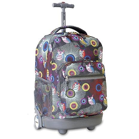 J World New York Sunrise Backpack, Blazing Owl