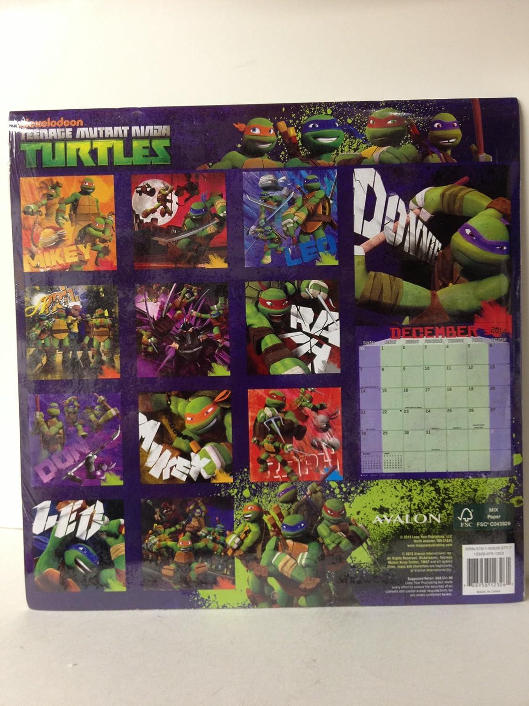 Amazon.com: 2014 Teenage Mutant Ninja Turtles 16 Mes ...