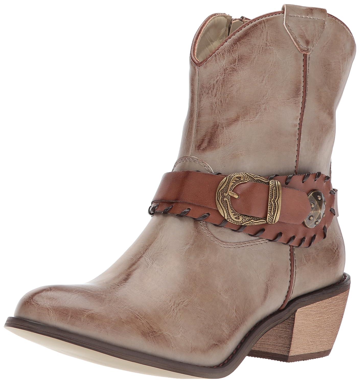 Roper Women's Mae Fashion Boot B074D3WJ9H 5 B(M) US|Brown