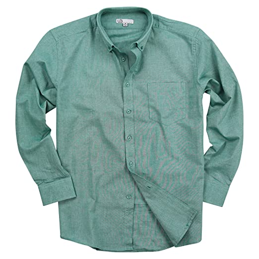 Urban Boundaries Men S 100 Cotton Long Sleeve Button Down Collar