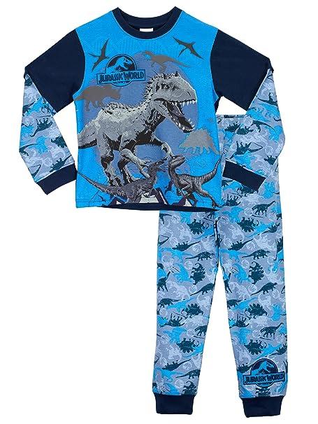 Jurassic World - Pijama para Niños - Jurassic World - 5 - 6 Años