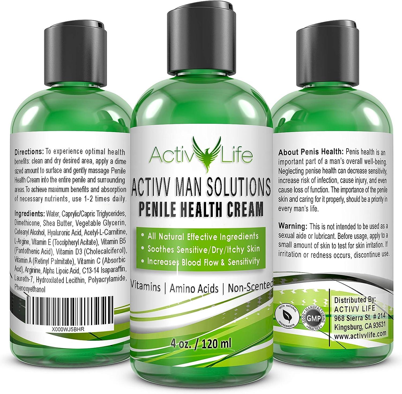 Amazon Com All Natural Penile Health Cream Treat Irritated Dry