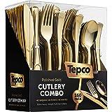 160 Plastic Silverware Set - Plastic Cutlery Set - Disposable Flatware - 80 Plastic Forks, 40 Plastic Spoons, 40 Cutlery…