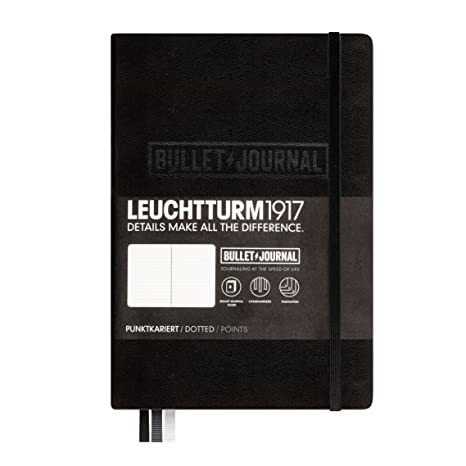 6770aa1b97 Amazon.com : Bullet Journal Notebook, Black, 346703 : Office Products