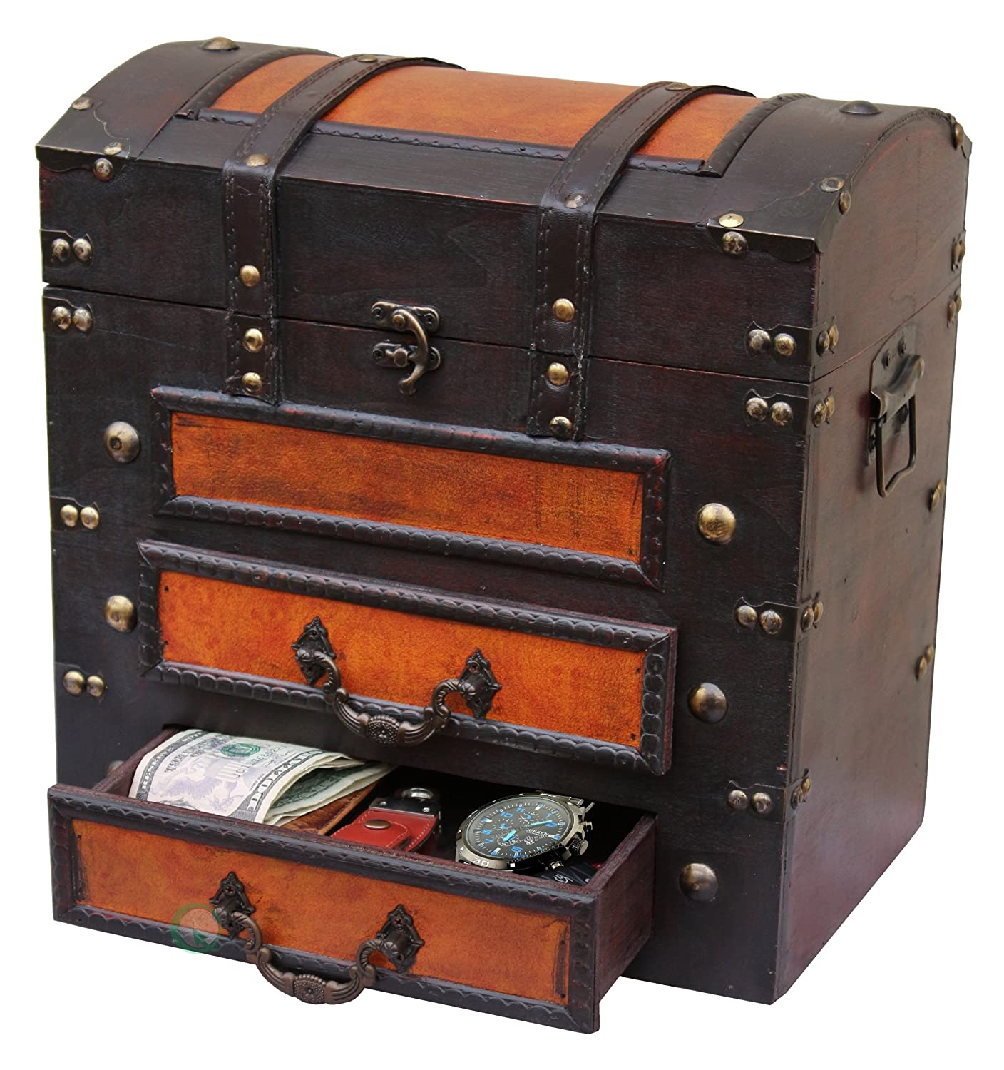 suitcase drawers old and with stack suitcases repurposing objects