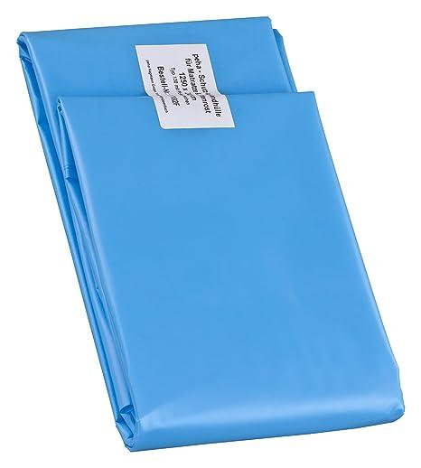 haggiy Protección del colchón - cubierta extra estable para colchones de 140 cm de ancho