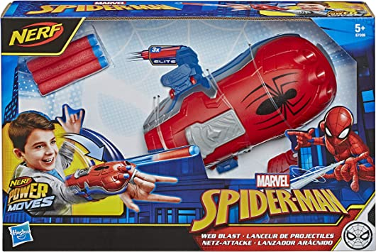New Avengers Ultimate Spiderman Web Shooter Launcher With Glove Toy Kid Gift UK