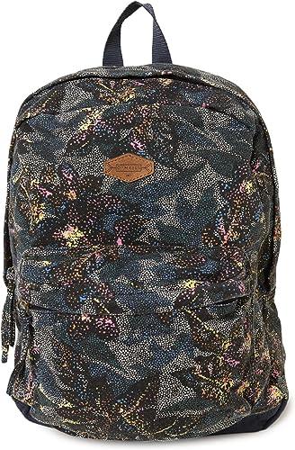 O Neill Women's Basic Lightweight Canvas Backpack Abyss Shoreline
