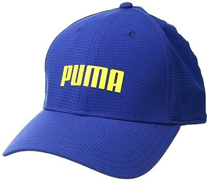 4e7063e61126a Buy Puma Golf 2018 Men's Breezer Hat (Electric Blue Lemonade, S/M ...