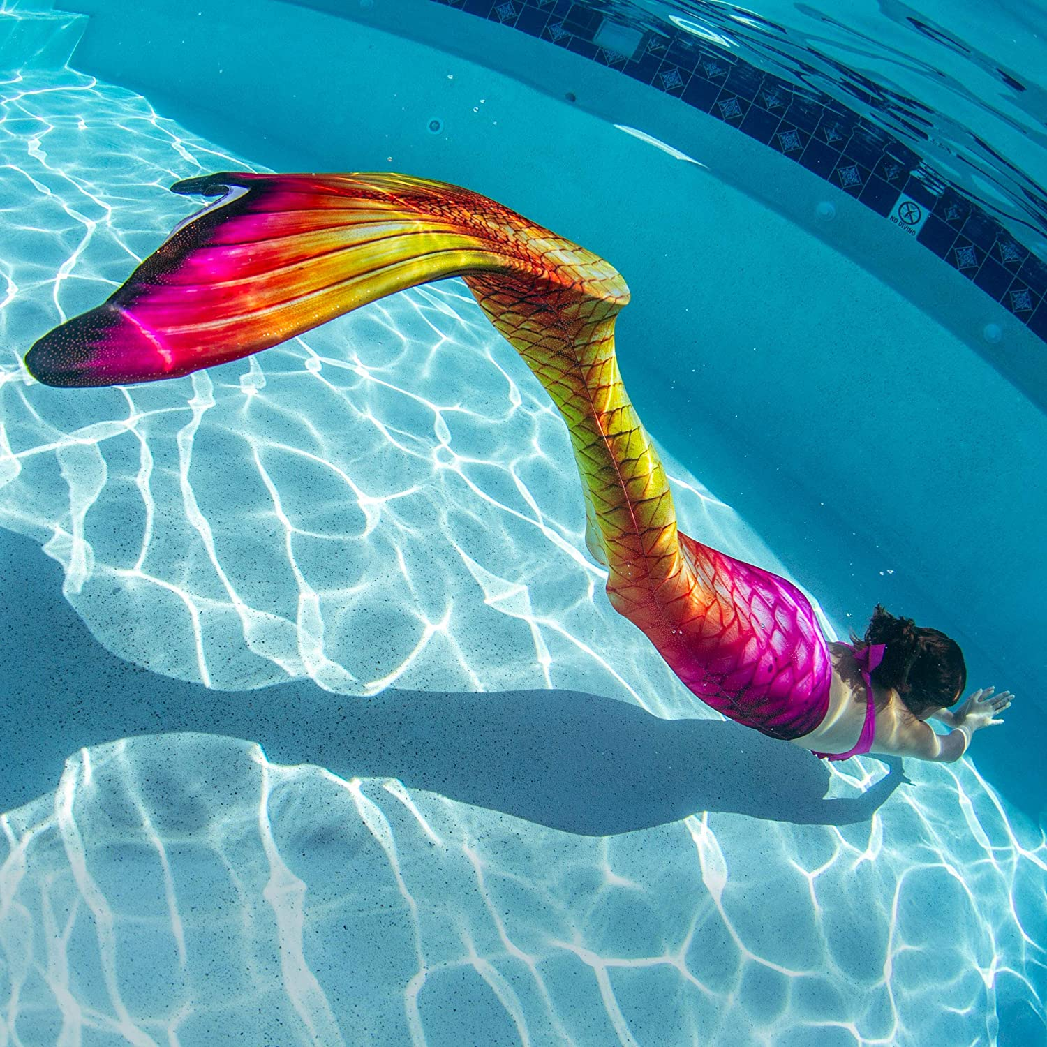 Fin Fun Mermaid Tails Swimming Monofin Kid Adult Sizes Limited